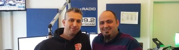 SC Potsdam Davide Carli mit Tobi 2